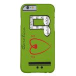 I Love Music  Lovers Custom Name iPhone 6 case