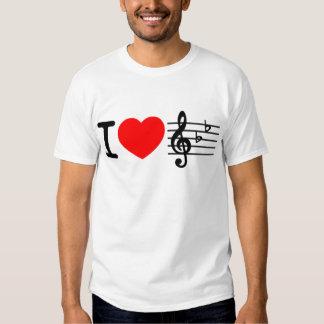 I love music/Master Music Shirt