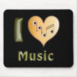 I love Music Mousepads