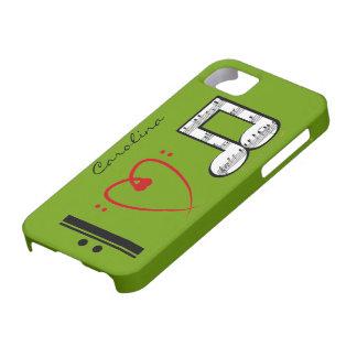 I Love Music Music Lovers Custom Name iphone 5 iPhone 5 Cover