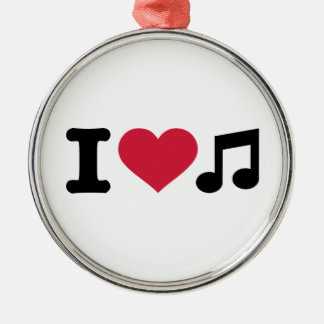 I love music note christmas ornaments