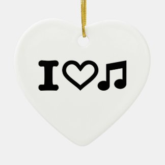 I love music note ornaments