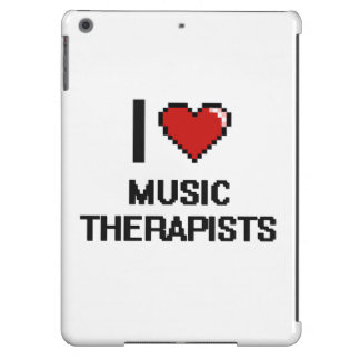 I love Music Therapists iPad Air Cases