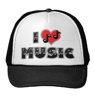 I Love Music Trucker Hat
