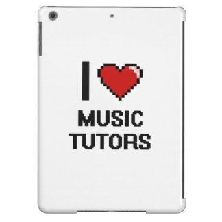 I love Music Tutors Case For iPad Air