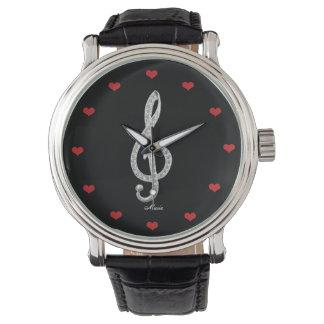 I Love Music Wrist Watches