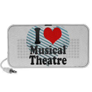 I love Musical Theatre Travelling Speakers