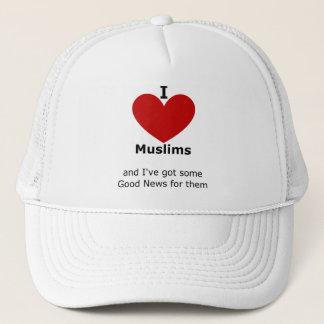 I Love Muslims - hat
