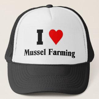 I love Mussel Farming Trucker Hat