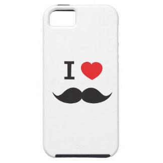 I Love Mustache iPhone 5 Case