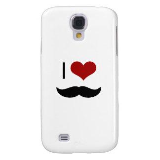 I love mustache galaxy s4 cover