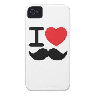I love mustache iPhone 4 case
