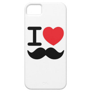 I love mustache iPhone SE/5/5s case