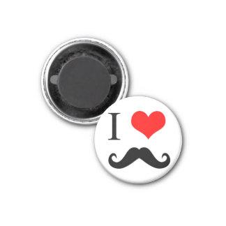 I love MUSTACHE Magnet