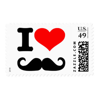 I love mustache stamps