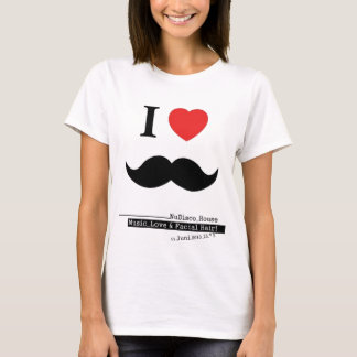 I LOVE MUSTACHES T-Shirt
