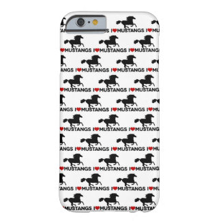 I Love Mustangs - iPhone 6 case iPhone 6 Case