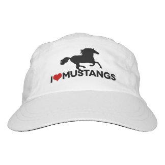 I Love Mustangs - Woven Hat