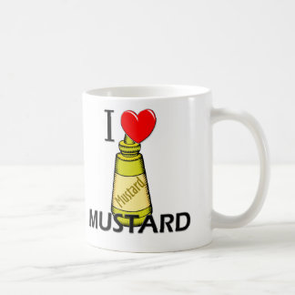 I Love Mustard Coffee Mug