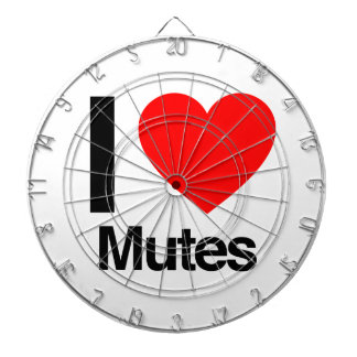 i love mutes dart boards