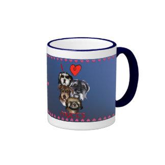 I Love Mutts Mug