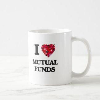 I Love Mutual Funds Classic White Coffee Mug