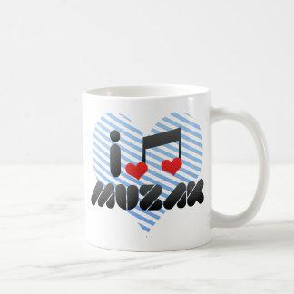 I Love Muzak Mug