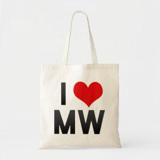 I Love MW Canvas Bag