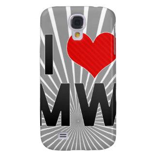 I Love MW Galaxy S4 Covers