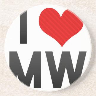 I Love MW Coaster