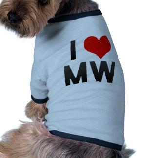 I Love MW Dog Clothing