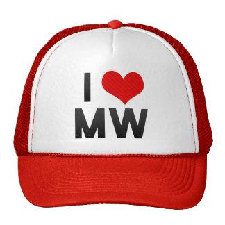 I Love MW Mesh Hats