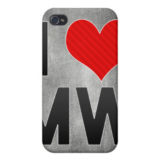 I Love MW Cases For iPhone 4