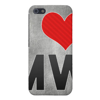 I Love MW Cases For iPhone 5