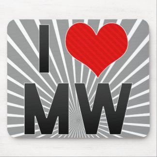 I Love MW Mousepad