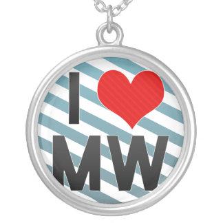 I Love MW Necklaces