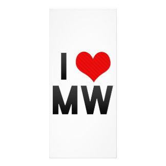 I Love MW Rack Cards