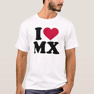 I love MX Motocross T-Shirt