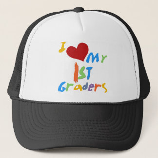 I Love My 1st Graders Tshirts and Gifts Trucker Hat