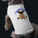 "I Love My 2 Moms Pug T-Shirt<br><div class=""desc"">Gay Pride Pug tees</div>"