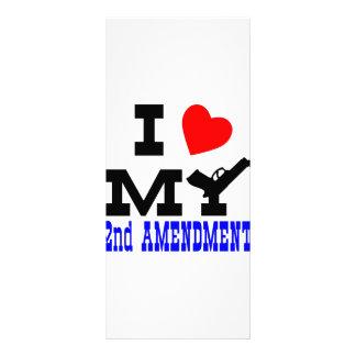 I Love My 2nd Amendment Rack Cards