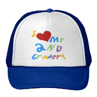 I Love My 2nd Graders Tshirts and Gifts Trucker Hat