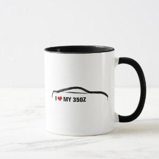 I Love My 350Z Mug