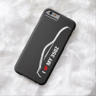 I love my 350Z - NIssan 350Z silhouette Barely There iPhone 6 Case