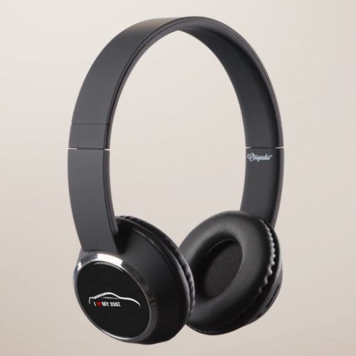 I love my 350Z - Nissan 370Z silhouette Headphones