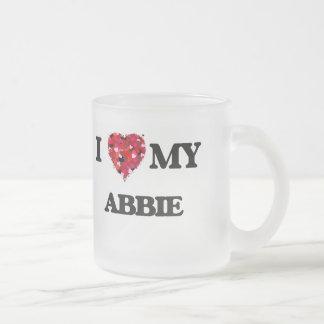 I love my Abbie 10 Oz Frosted Glass Coffee Mug