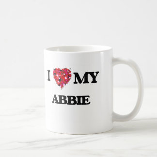 I love my Abbie Classic White Coffee Mug