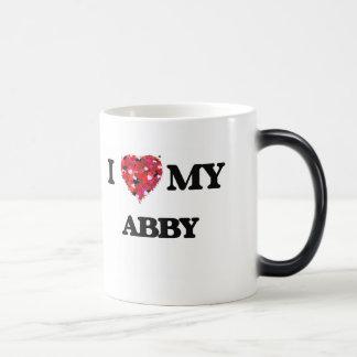 I love my Abby 11 Oz Magic Heat Color-Changing Coffee Mug