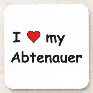 I Love My Abtenauer Beverage Coaster