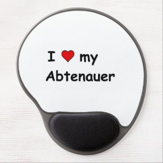 I Love My Abtenauer Gel Mouse Pad